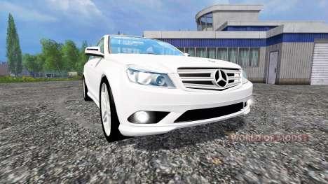 Mercedes-Benz C350 CDI v1.1 para Farming Simulator 2015
