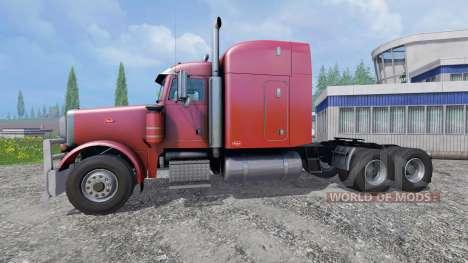 Peterbilt 379 2007 para Farming Simulator 2015