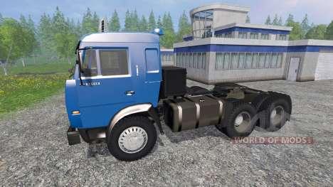 KamAZ-54115 para Farming Simulator 2015