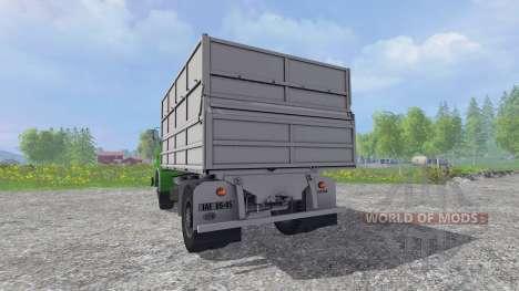 Skoda Liaz Tipper v1.1 para Farming Simulator 2015
