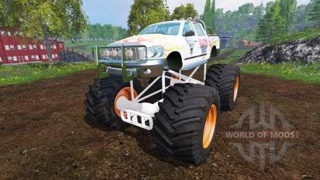 PickUp Monster Truck Jam v1.1 para Farming Simulator 2015