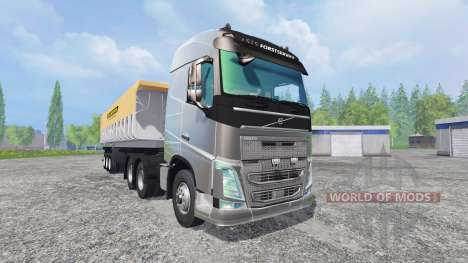 Volvo FH16 2012 [trailer] para Farming Simulator 2015