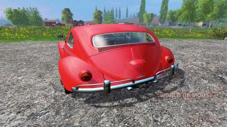 Volkswagen Beetle 1966 v1.2 para Farming Simulator 2015