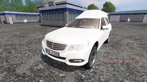 Mercedes-Benz E350 CDI Estate [hearse] para Farming Simulator 2015