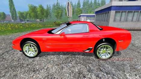 Chevrolet Corvette C5 para Farming Simulator 2015
