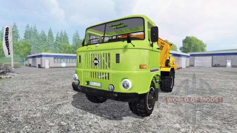 IFA W50L [fertilizer] para Farming Simulator 2015