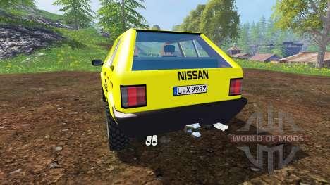 Nissan Micra [racing edition] v3.0 para Farming Simulator 2015