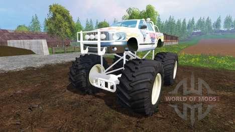 PickUp Monster Truck Jam para Farming Simulator 2015