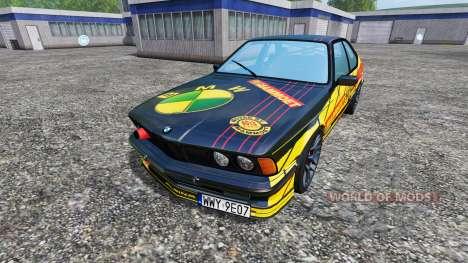 BMW M635CSi (E24) [Mammoet Auto Sport] para Farming Simulator 2015