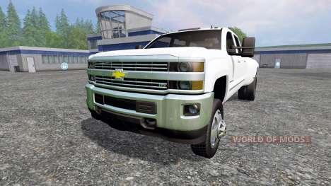 Chevrolet Silverado 3500 para Farming Simulator 2015
