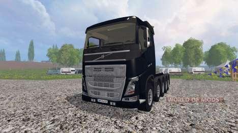 Volvo FH10x4 [heavy duty] v1.1 para Farming Simulator 2015