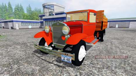 Ford Model AA v2.0 para Farming Simulator 2015