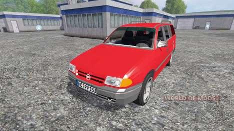 Opel Astra F Caravan para Farming Simulator 2015