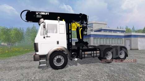 Mercedes-Benz SK [forest] para Farming Simulator 2015