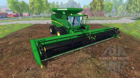 John Deere S680 [pack] para Farming Simulator 2015