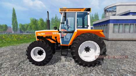 Steyr 8090A Turbo SK2 [municipal and forestry] para Farming Simulator 2015