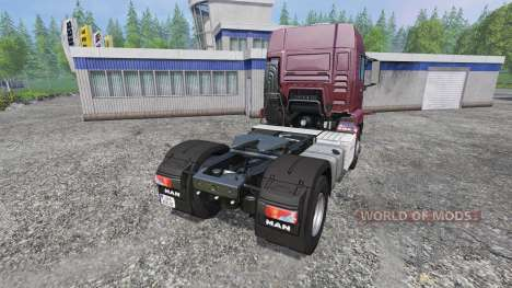 MAN TGS 18.440 [tuning] para Farming Simulator 2015