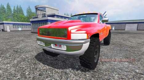 Dodge Ram 2500 2001 para Farming Simulator 2015