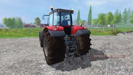 Massey Ferguson 7626 v1.8 para Farming Simulator 2015