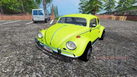 Volkswagen Beetle 1966 v1.5 para Farming Simulator 2015