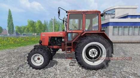 MTZ-82.1 Bielorruso turbo v2.1 para Farming Simulator 2015