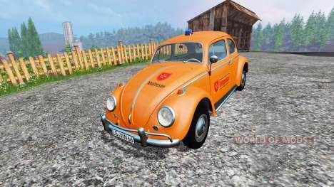 Volkswagen Beetle 1966 [Maltese] v2.0 para Farming Simulator 2015