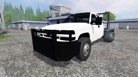 Chevrolet Silverado [FlatTrack] para Farming Simulator 2015