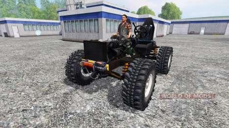 Land Rover Defender 90 [trial] para Farming Simulator 2015