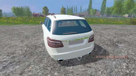 Mercedes-Benz E350 [beta] para Farming Simulator 2015
