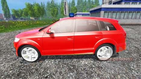 Audi Q7 para Farming Simulator 2015