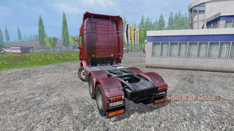 Scania R730 [Topline] para Farming Simulator 2015