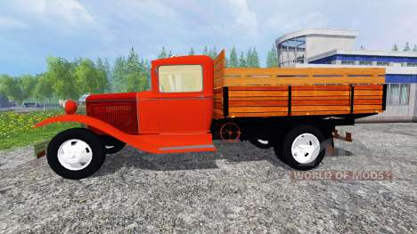 Ford Model AA v2.0 para Farming Simulator 2015