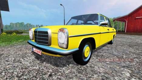 Mercedes-Benz 200D (W115) 1973 v1.2 para Farming Simulator 2015