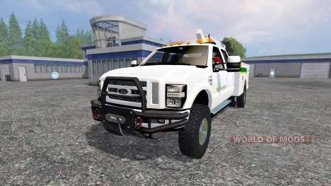Ford F-350 Field Service para Farming Simulator 2015