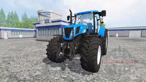 New Holland T7030 [final] para Farming Simulator 2015