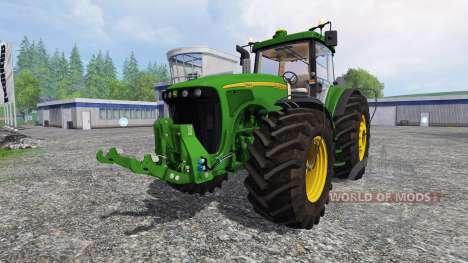 John Deere 8220 v2.5 para Farming Simulator 2015