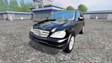Mercedes-Benz ML430 para Farming Simulator 2015