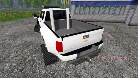 Chevrolet Silverado [brush truck] para Farming Simulator 2015
