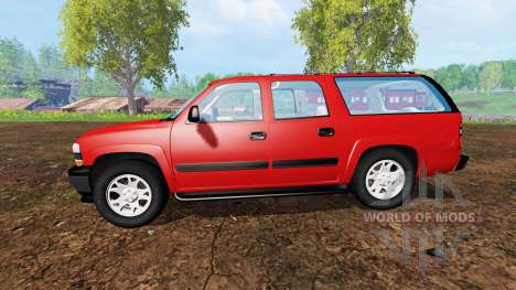 Chevrolet Suburban [pack] para Farming Simulator 2015