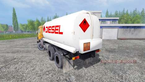 KamAZ 55102 [fuel] para Farming Simulator 2015
