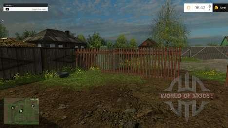 El Pueblo De Novotroitsk para Farming Simulator 2015