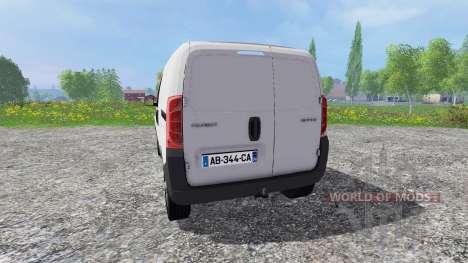 Peugeot Bipper para Farming Simulator 2015