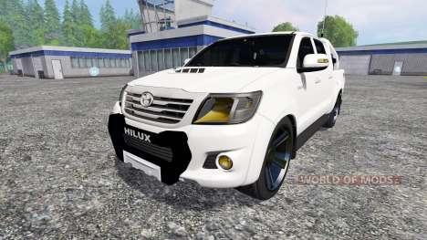 Toyota Hilux [city version] v1.2 para Farming Simulator 2015