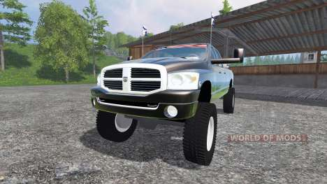 Dodge Ram 3500 2007 [wide stance] v2.0 para Farming Simulator 2015