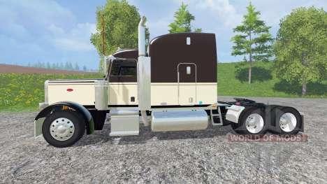 Peterbilt 388 v1.1 para Farming Simulator 2015