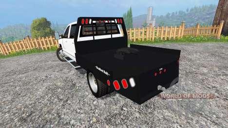 Chevrolet Silverado 3500 [flatbed] para Farming Simulator 2015