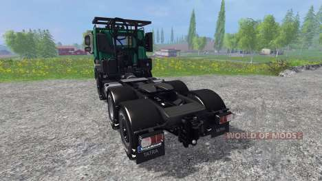 Tatra Phoenix T 158 v1.1 para Farming Simulator 2015