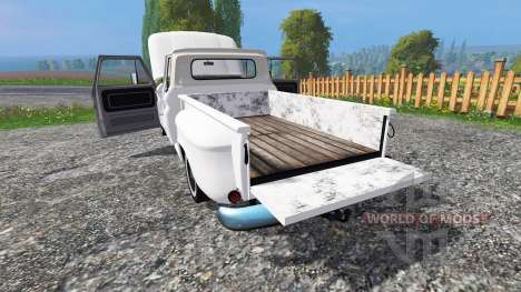 Chevrolet C10 Fleetside 1966 v1.2 para Farming Simulator 2015