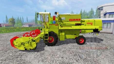 CLAAS Dominator 105 para Farming Simulator 2015