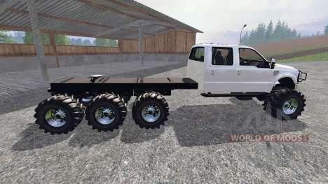 Ford F-350 8x8 para Farming Simulator 2015